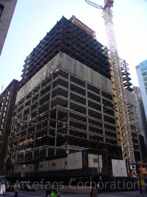 Photograph of 1 South Dearborn under construction - Chicago, Illinois