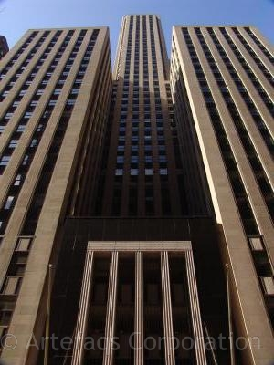 Stock photo of LaSalle Bank Building - 135 South LaSalle - Chicago, Illinois