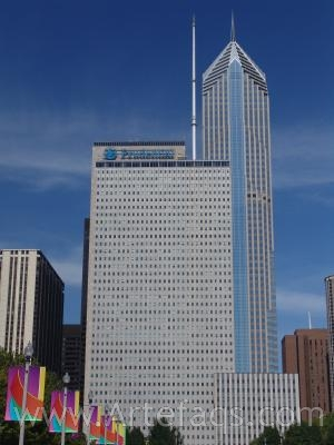 Stock photo of One Prudential Plaza - Chicago, Illinois