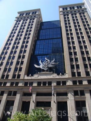 Stock photo of State of Illinois Building - Chicago, Illinois