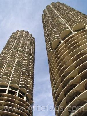 Stock photo of Marina City - Chicago, Illinois