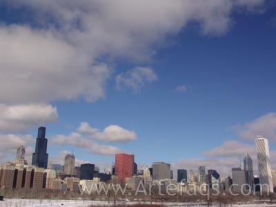 Stock photo of Chicago, Illinois Skyline
