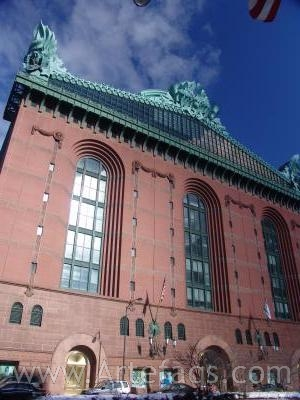 Stock photo of Harold Washington Library - Chicago, Illinois