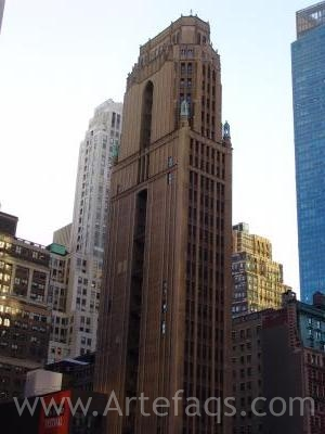 Photograph of Bush Tower - New York, New York