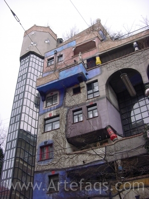 Stock photo of Hundertwasser Haus - Vienna, Austria