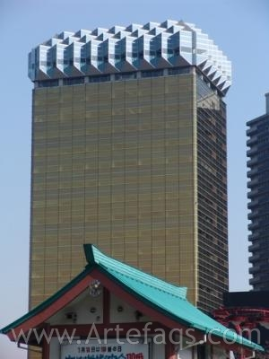 Stock photo of Asahi Breweries Head Office - Tokyo, Japan