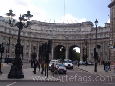 Stock photo of Admirality Arch - London, England
