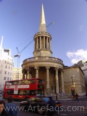 Stock photo of All Souls Church - London, England