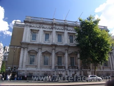 Photograph of Banqueting House - London England
