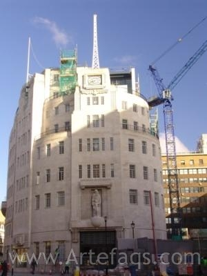 Stock photo of Broadcasting House - London, England