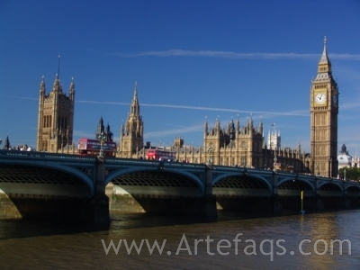 Stock photo of Houses of Parliament - London, England