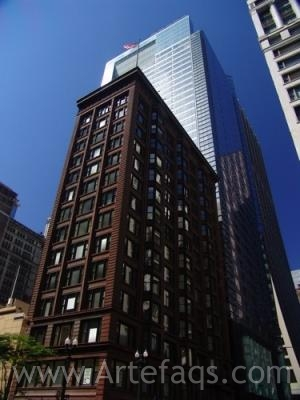 Stock photo of 1 South Dearborn - Chicago, Illinois