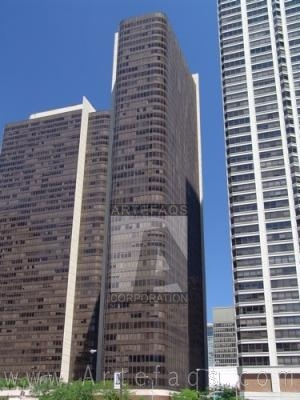 Stock photo of McClurg Court Center Tower A - Chicago, Illinois