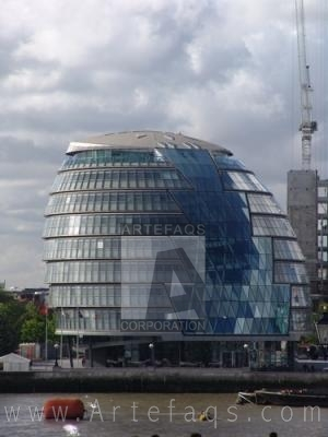 Stock photo of London City Hall - London England