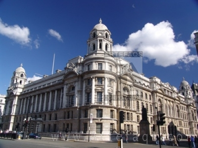 Stock photo of Old War Office - London England