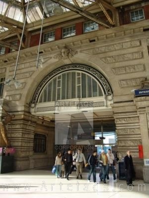 Stock photo of Waterloo Station - London, England