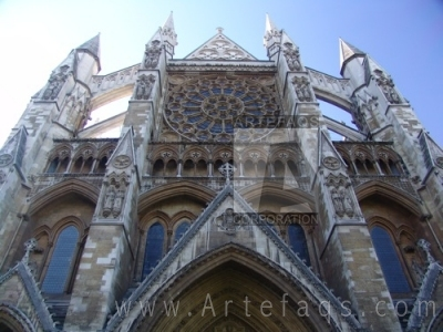 Stock photo of Westminster Abbey - London, England