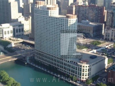 Stock photo of Sheraton Chicago Hotel and Towers - Chicago, Illinois