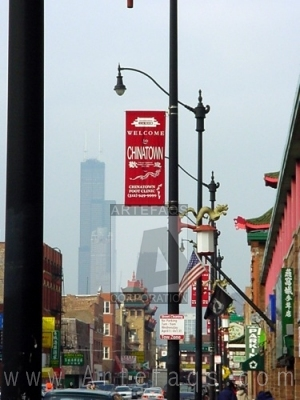 Stock photo of Chinatown - Chicago, Illinois