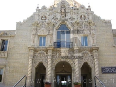 Stock photo of Garfield Park Fieldhouse - Chicago, Ilinois