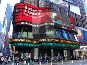 Photograph of ABC at Times Square - New York, New York