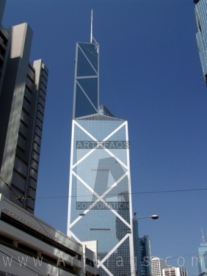 Stock photo of Bank of China (Hong Kong) Tower - Hong Kong, China