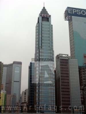 Stock photo of Bank of Communications Tower - Hong Kong, China