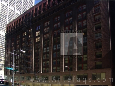 Stock photo of Bell Savings Building - Chicago, Illinois