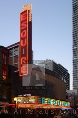 Stock photo of Esquire Theater - Chicago, Illinois