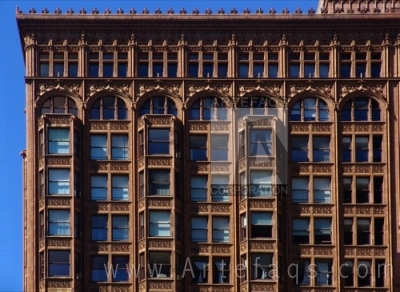 Stock photo of Fisher Building - Chicago, Illinois