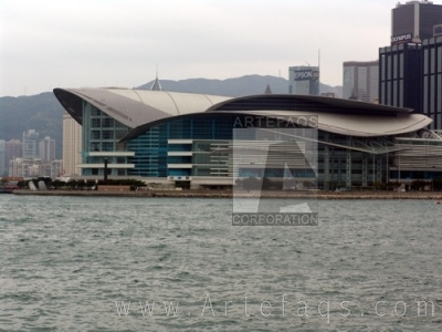 Photograph of Hong Kong Convention and Exhibition Centre - Hong Kong, China