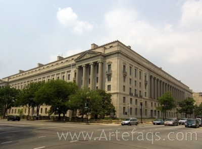 Photograph of Department of Justice - Washington, DC