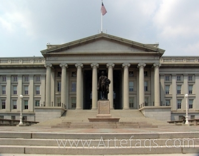 Photograph of Department of the Treasury - Washington, DC