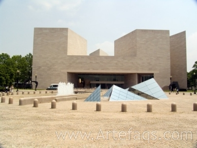 Stock photo of National Gallery of Art, East Building - Washington, DC