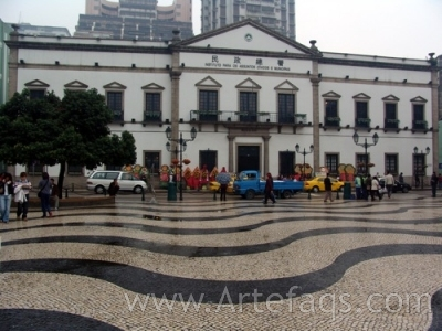 Photograph of Leal Senado Building - Macau, China
