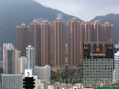 Stock photo of Leighton Hill - Hong Kong, China