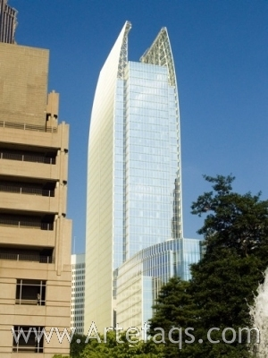 Stock photo of 1180 Peachtree - Atlanta, Georgia