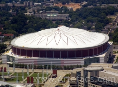 Photograph of Georgia Dome - Atlanta, Georgia