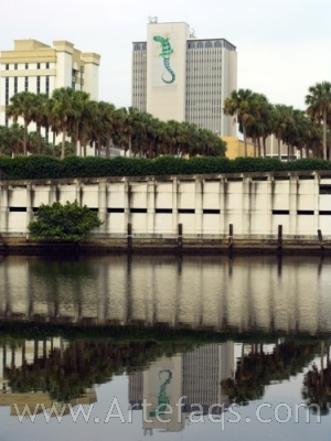 Stock photo of Franklin Exchange Building - Tampa, Florida