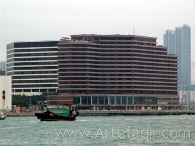 Stock photo of InterContinental Hong Kong - Kowloon, China