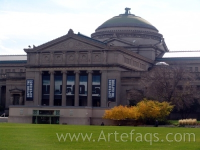 Stock photo of Museum of Science and Industry - Chicago, Illinois