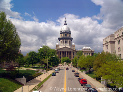Photograph of State Capitol - Springfield, Illinois