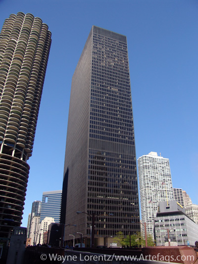 Stock photo of IBM Building - Chicago, Illinois
