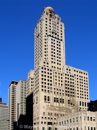 Stock photo of Intercontinental Hotel - Chicago, Illinois
