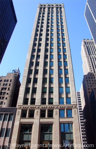 Photograph of Loop Center Building - Chicago, Illinois