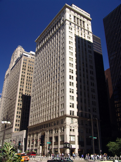 Stock photo of Old Republic Building - Chicago, Illinois
