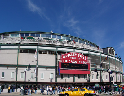Stock photo of Wrigley Field - Chicago, Illinois