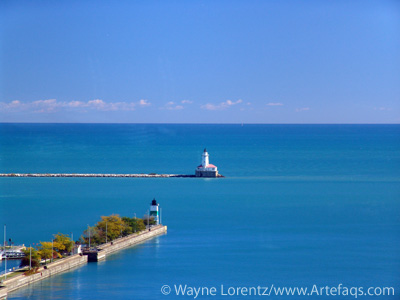 Stock photo of Lighthouse - Chicago, Illinois