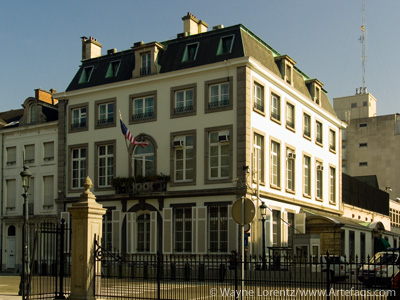 Photograph of American Embassy - Brussels, Belgium