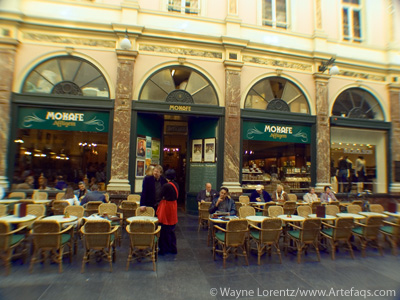 Photograph of Cafe - Brussels, Belgium